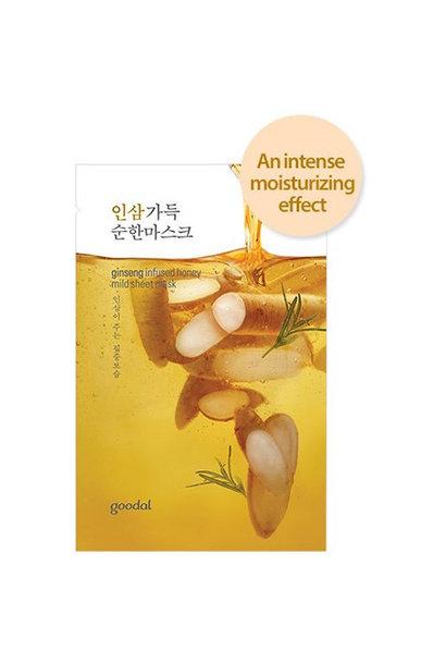 ginseng infused sheet mask
