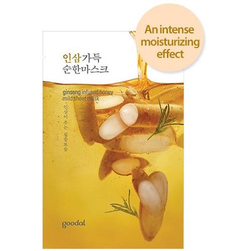 ginseng infused honey mild sheet mask-1