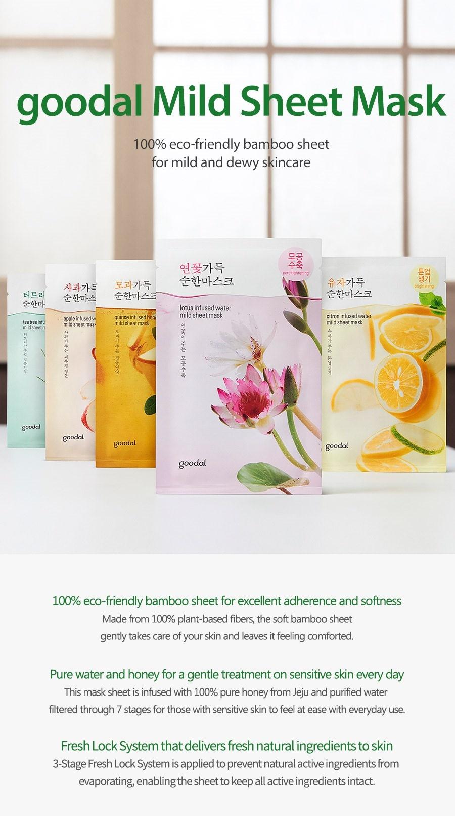 lotus infused water mild sheet mask-2