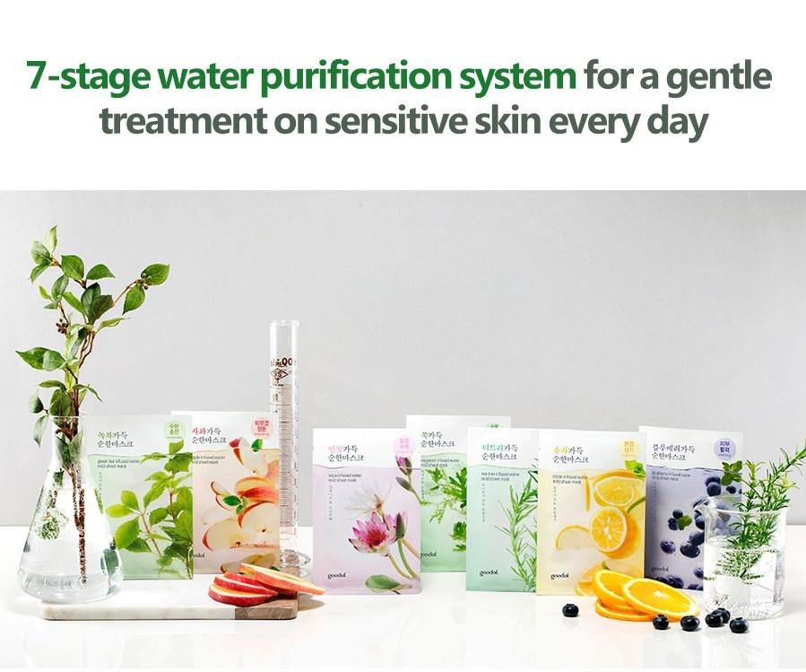 lotus infused water mild sheet mask-4