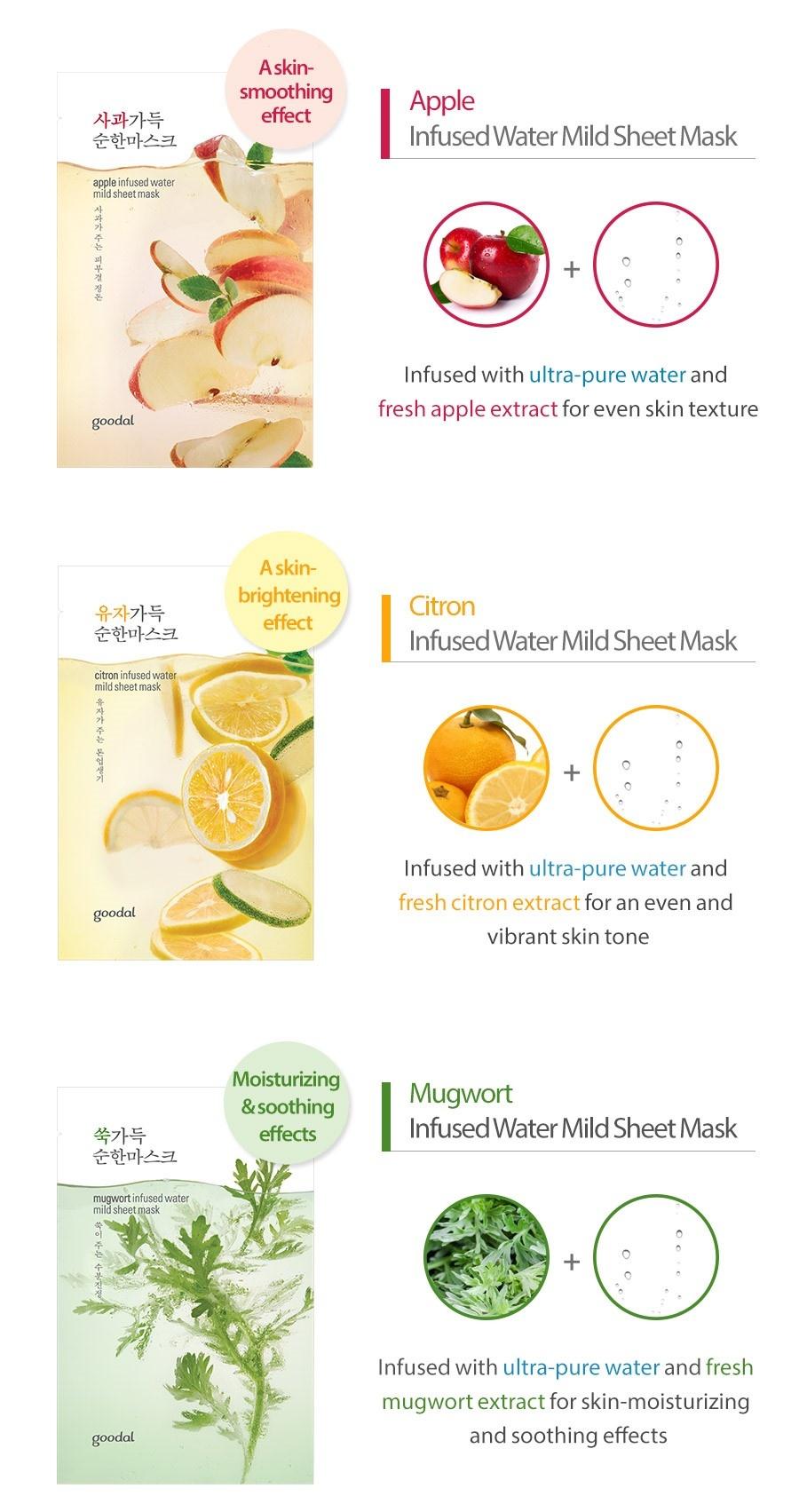 lotus infused water mild sheet mask-5