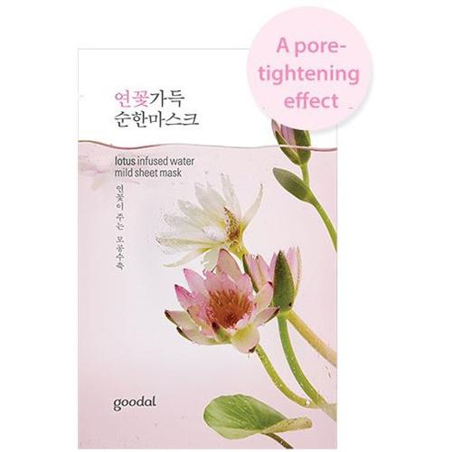 lotus infused water mild sheet mask-1