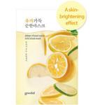 GOODAL citron infused sheet mask