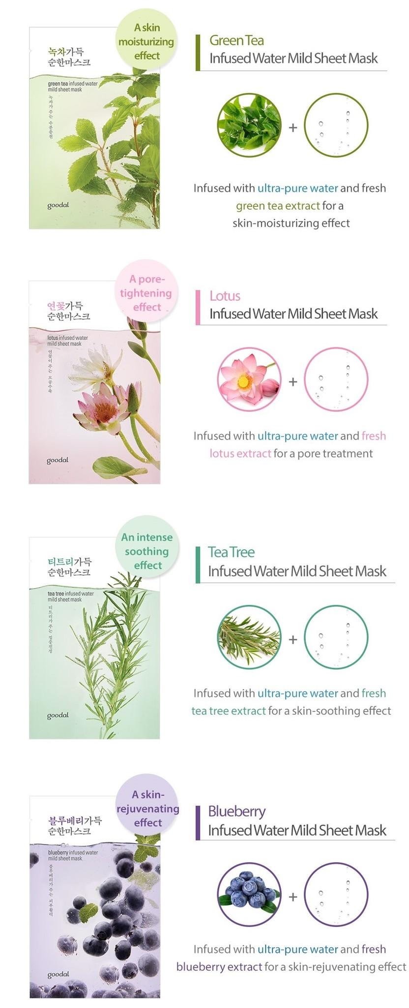 Mild Sheet Mask Probierset (9 Stk)-6