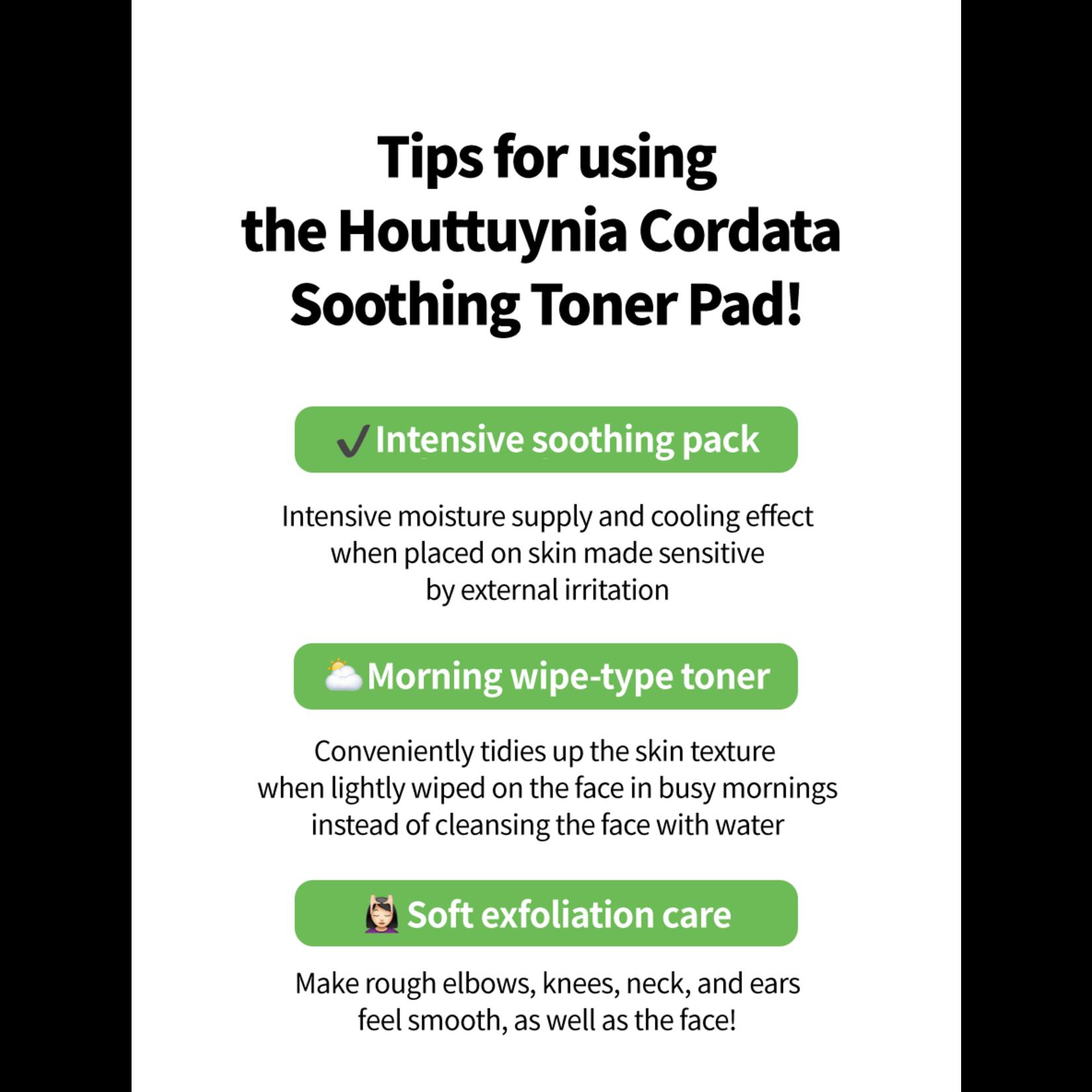 GOODAL Houttuynia Cordata Calming Toner Pad