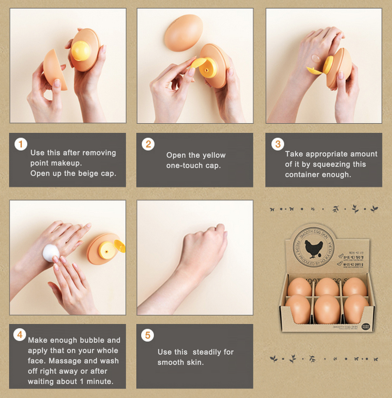 Smooth Egg Skin Cleansing Foam-4