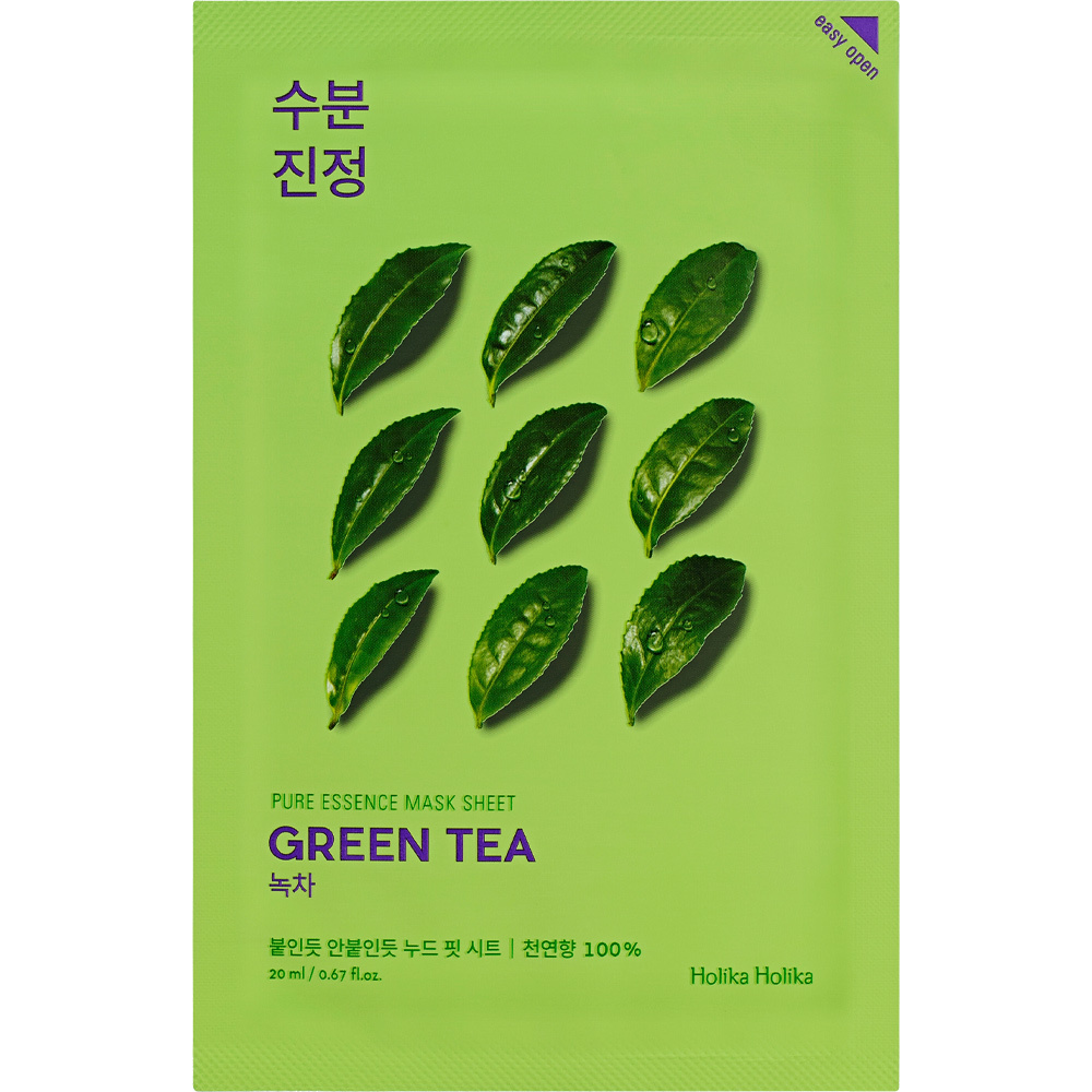 Pure Essence Mask Sheet GREEN TEA-1