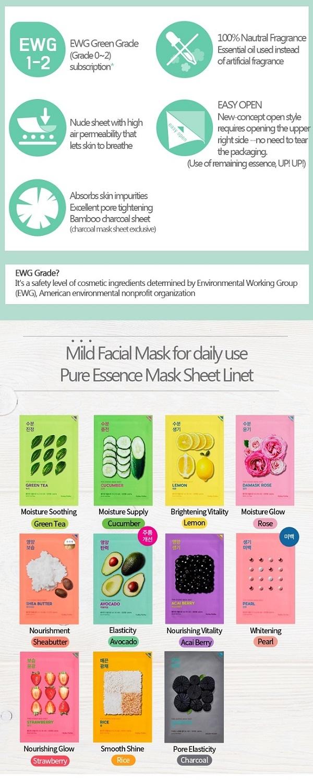 Pure Essence Mask Sheet DAMASK ROSE-3