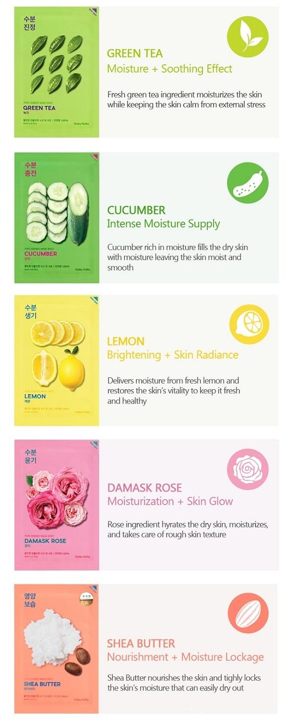 Pure Essence Mask Sheet DAMASK ROSE-4