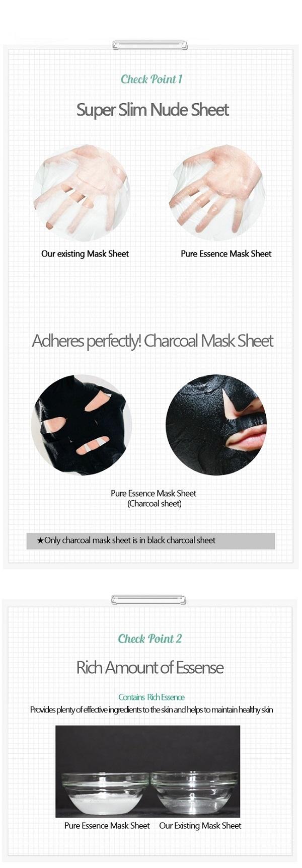 Pure Essence Mask Sheet DAMASK ROSE-6
