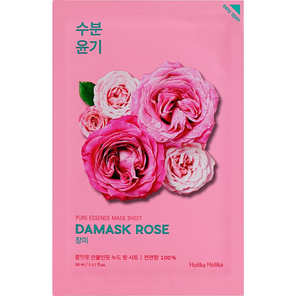 Pure Essence Mask Sheet DAMASK ROSE-1