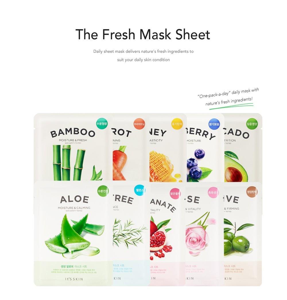 The Fresh Mask Sheet Blueberry-2