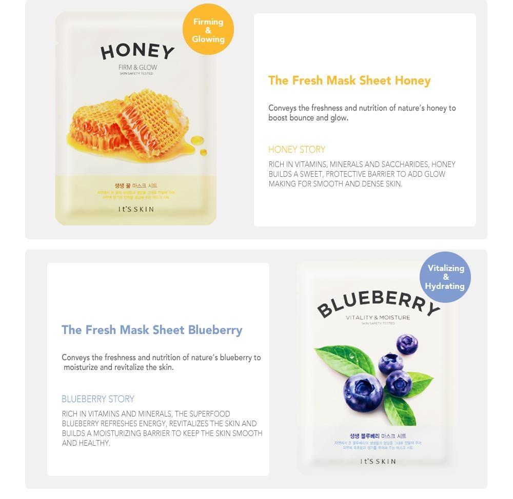The Fresh Mask Sheet Blueberry-4