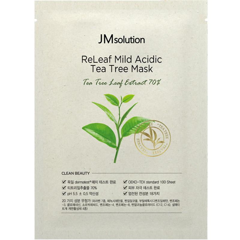 ReLeaf Mild Acidic Tea Tree Sheet Mask-1