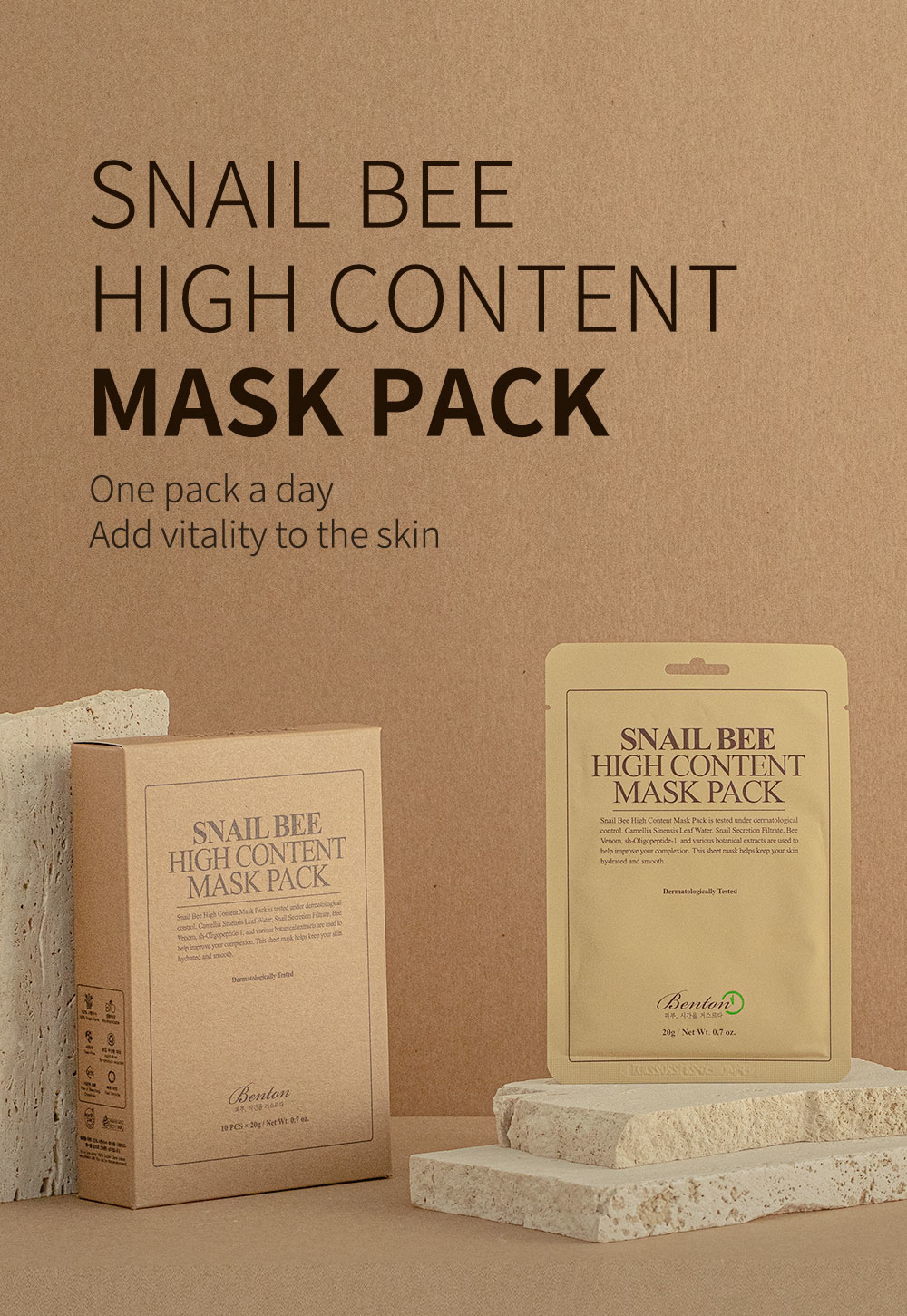 Snail Bee High Content Mask Pack-2