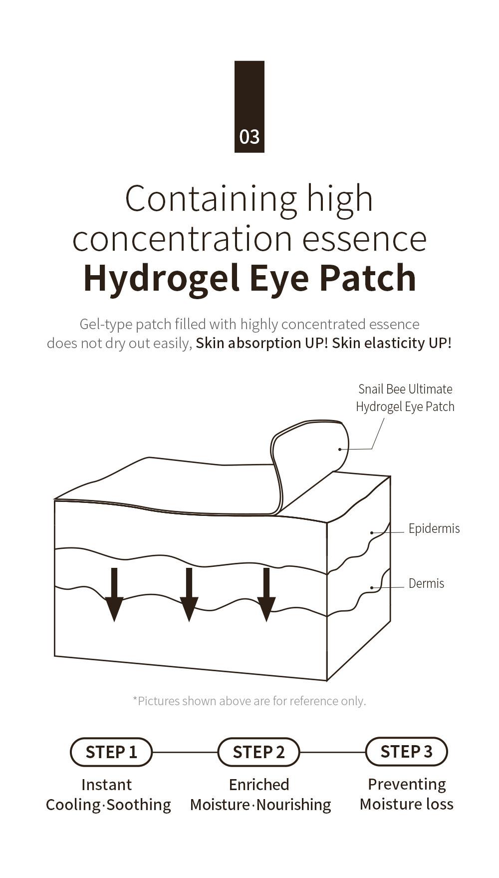 Snail Bee Ultimate Hydrogel Eye Patch-5