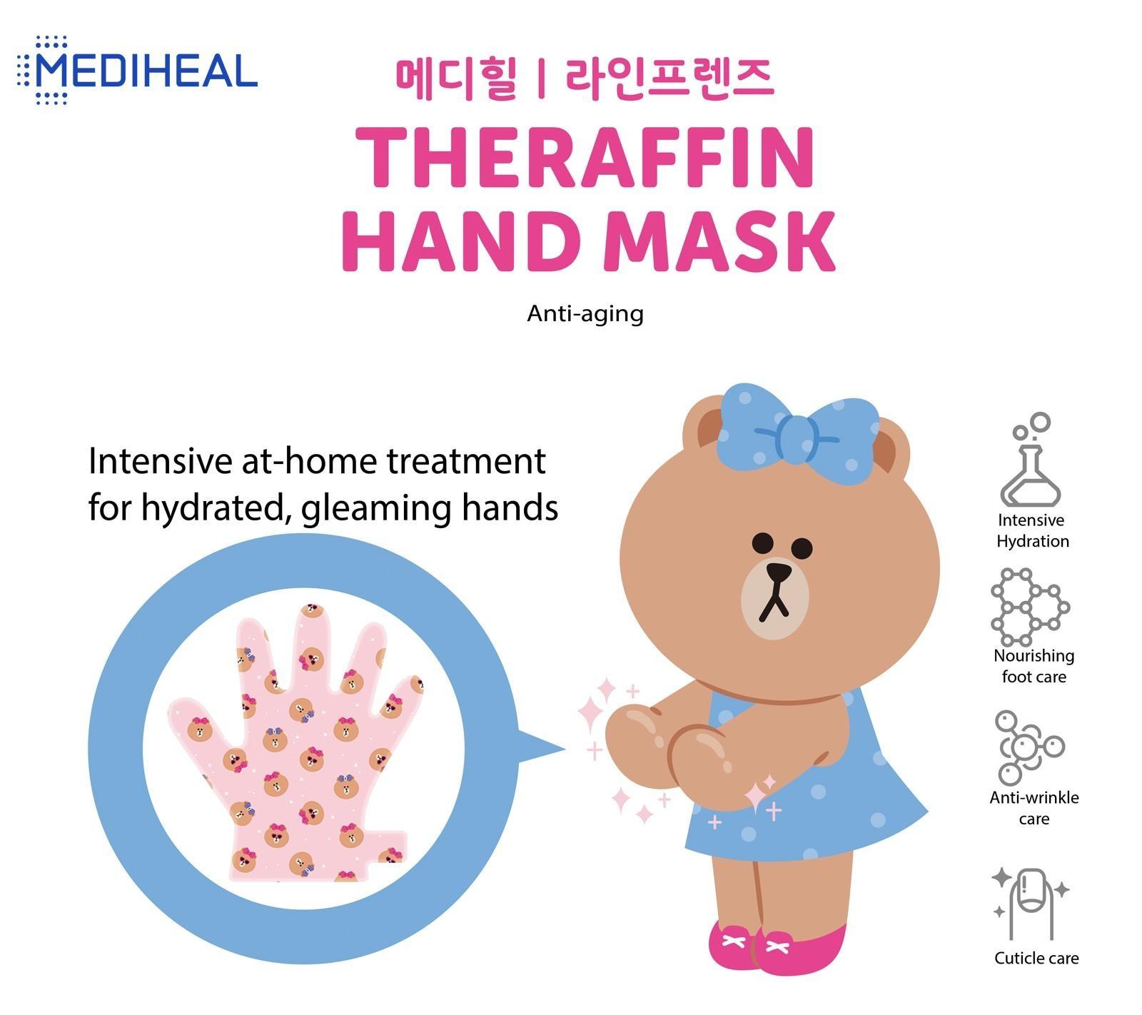 Line Friends Theraffin Hand Mask-2
