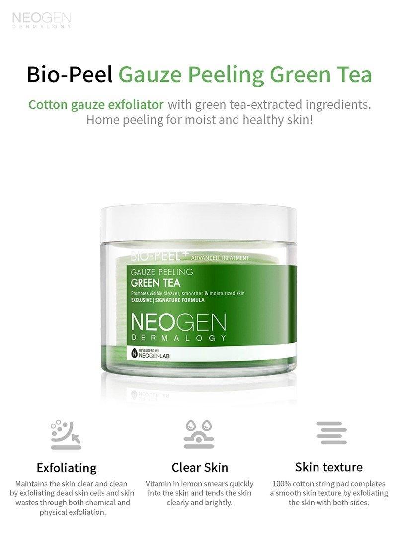 Bio-Peel Gauze Peeling Green Tea (8 pcs)-3