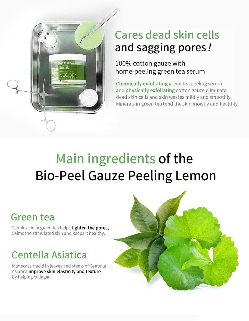 Bio-Peel Gauze Peeling Green Tea (8 pcs)-4