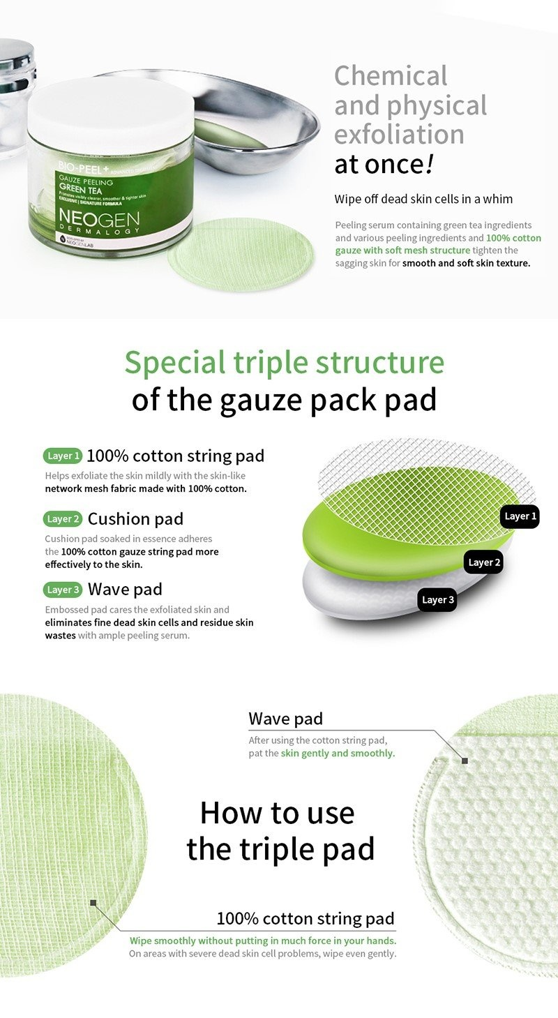 Bio-Peel Gauze Peeling Green Tea (8 pcs)-5