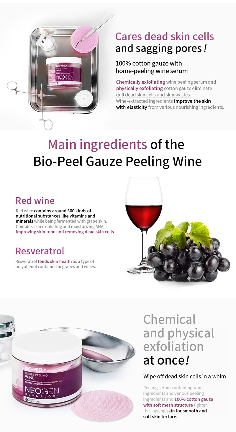 Bio-Peel Gauze Peeling Wine (8 pcs)-4