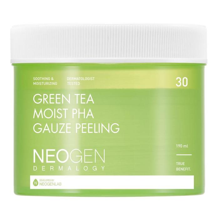 Green Tea Moist PHA Gauze Peeling-1
