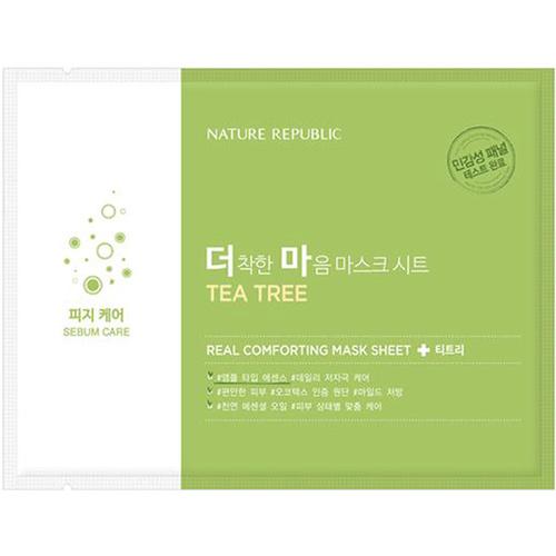 Real Comforting Sheet Mask [TEA TREE]-1
