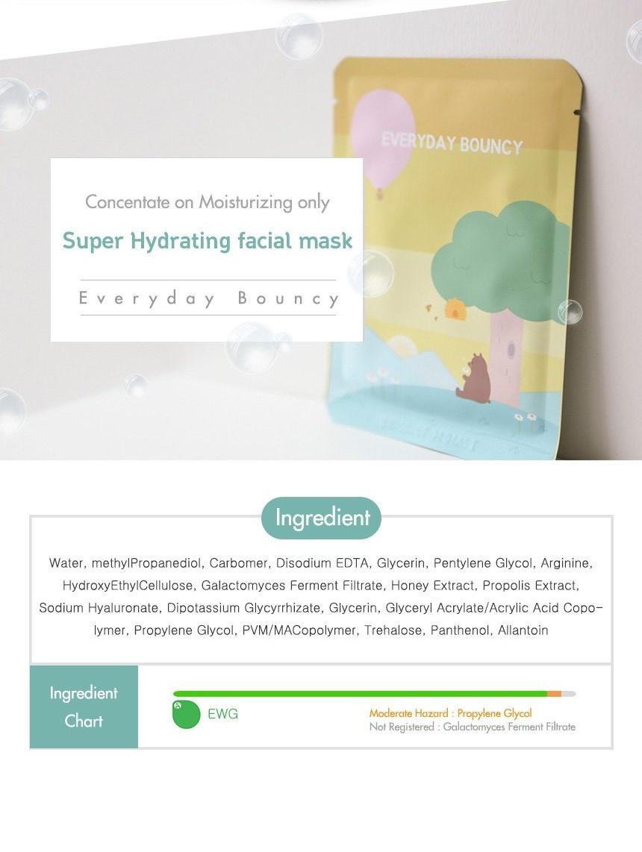 Everyday Bouncy Facial Sheet Mask-5
