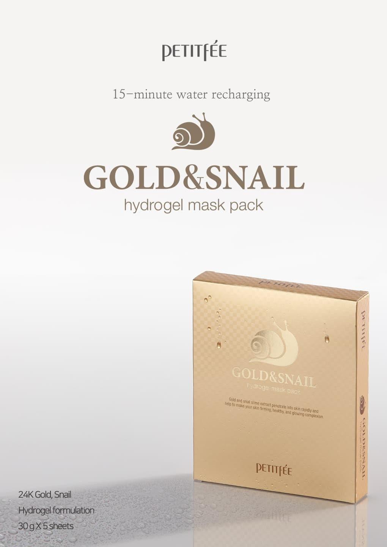 Gold & Snail Hydrogel Mask-2