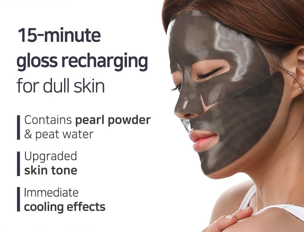 Black Pearl & Gold Hydrogel Mask-3