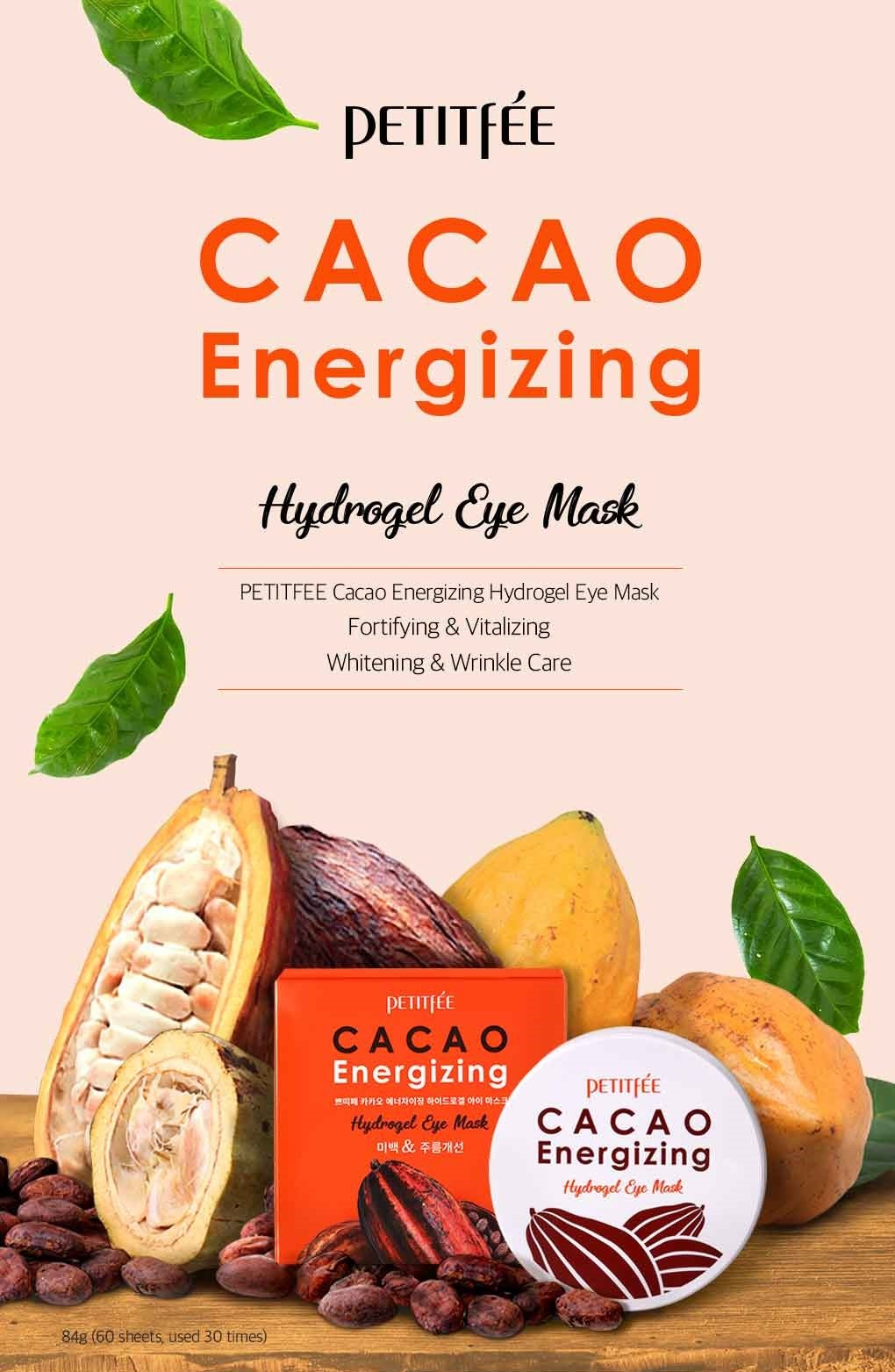 Cacao Energizing Hydrogel Eye Patch-2