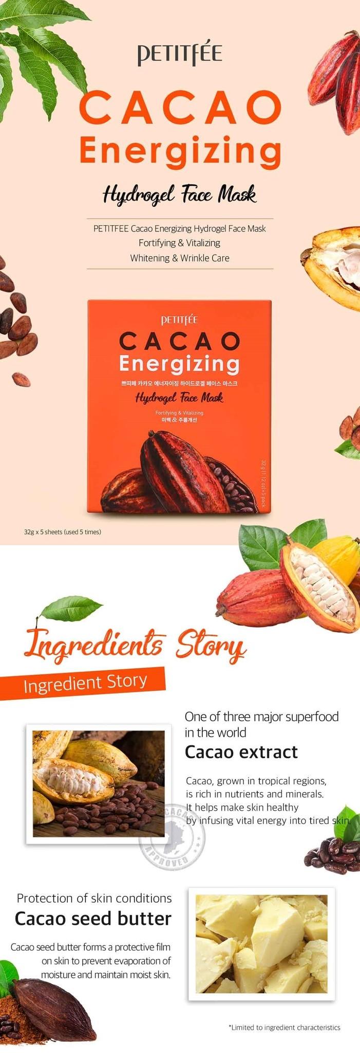 Cacao Energizing Hydrogel Maske-2