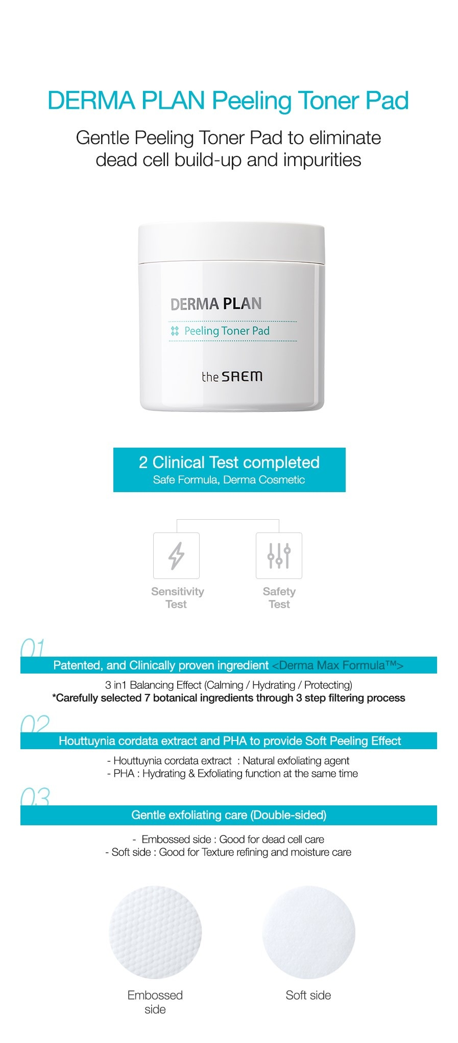 Derma Plan Peeling Toner Pad-2