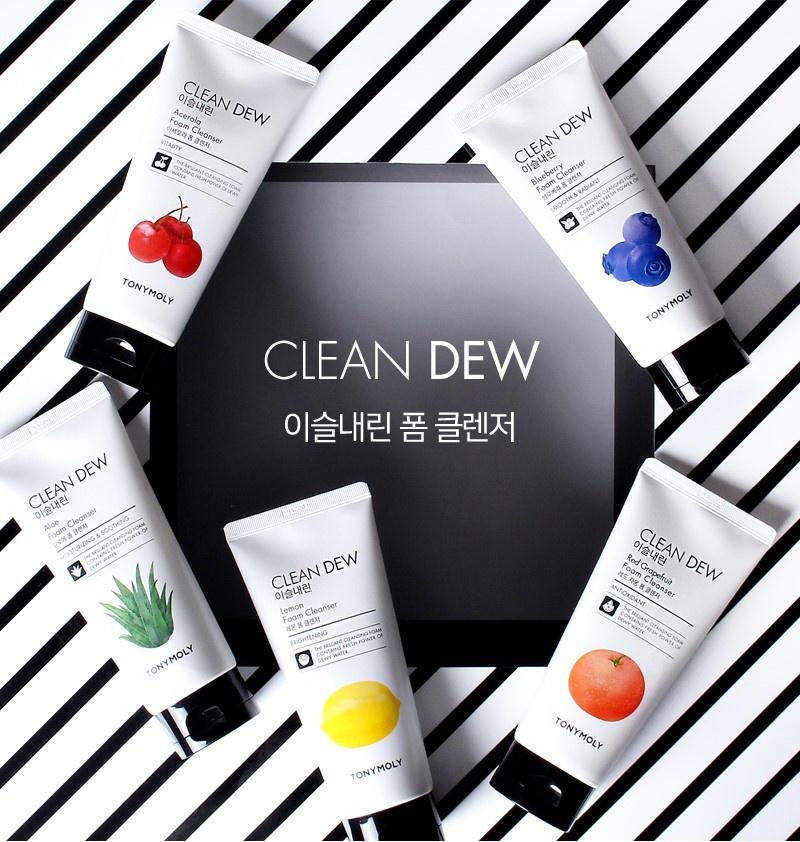 Clean Dew Blueberry Foam Cleanser-2