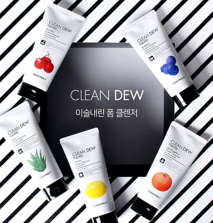 Clean Dew Red Grapefruit Foam Cleanser-2