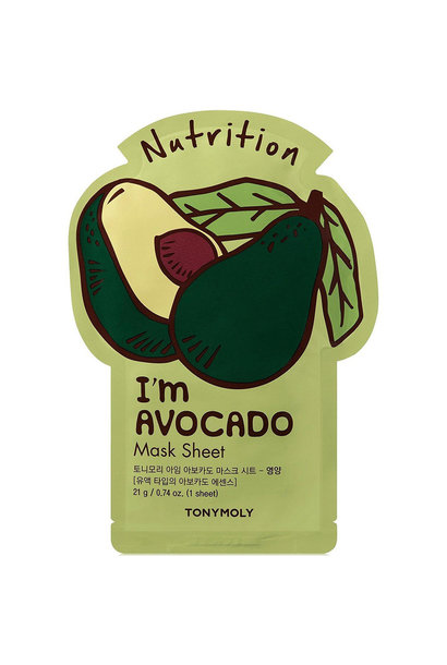 I`m REAL Avocado Mask Sheet Nutrition