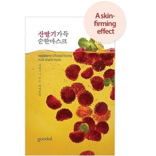 raspberry infused honey mild sheet mask-1