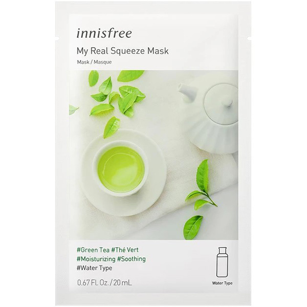 My Real Squeeze Mask [Green Tea]-1