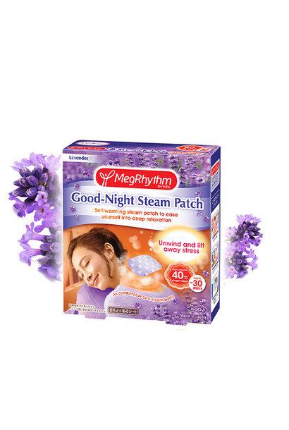 MegRhythm Steam Neck Sheet - Lavendel (1 Stk)