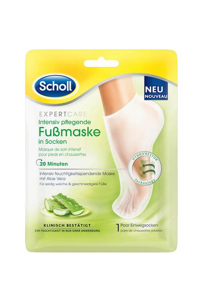 Expert Care Dry Skin Foot Mask Aloe Vera