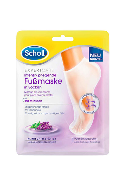 Expert Care Dry Skin Foot Mask Lavender