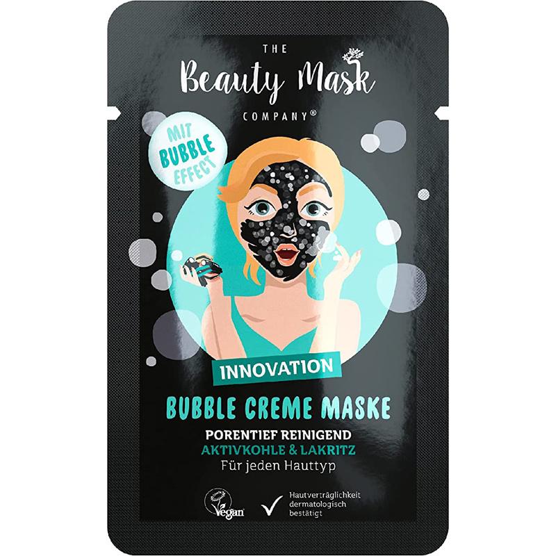 Bubble Cream Mask #Carbon & Licorice-1
