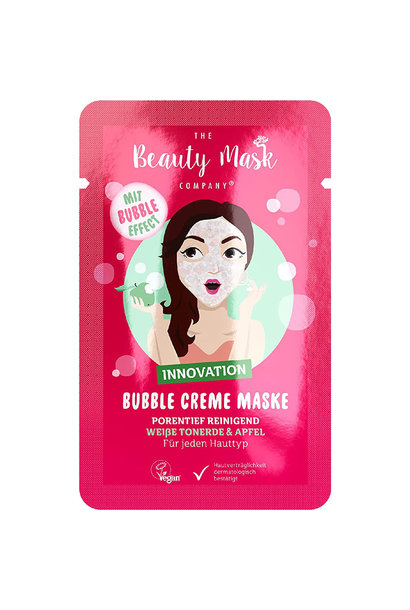 Bubble Mask #White Clay & Apple
