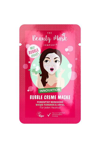 Bubble Maske #Weisse Tonerde & Apfel