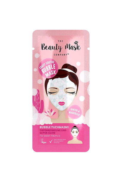 Bubble Sheet Mask #cactus & water lily