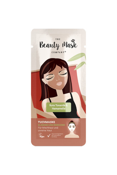 Sheet Mask #Red clay & Witch hazel
