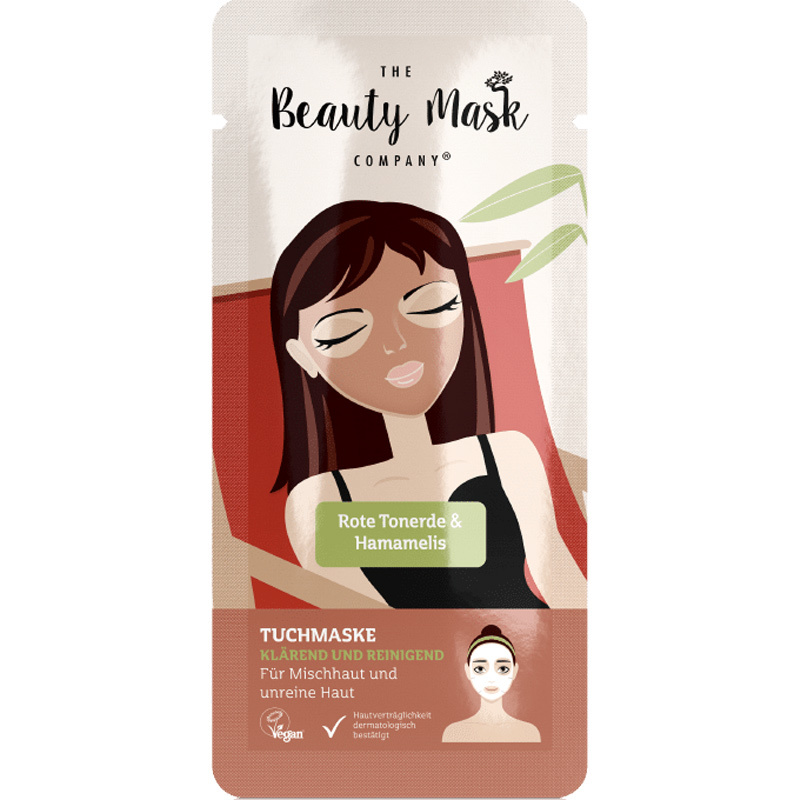 Sheet Mask #Red clay & Witch hazel-1