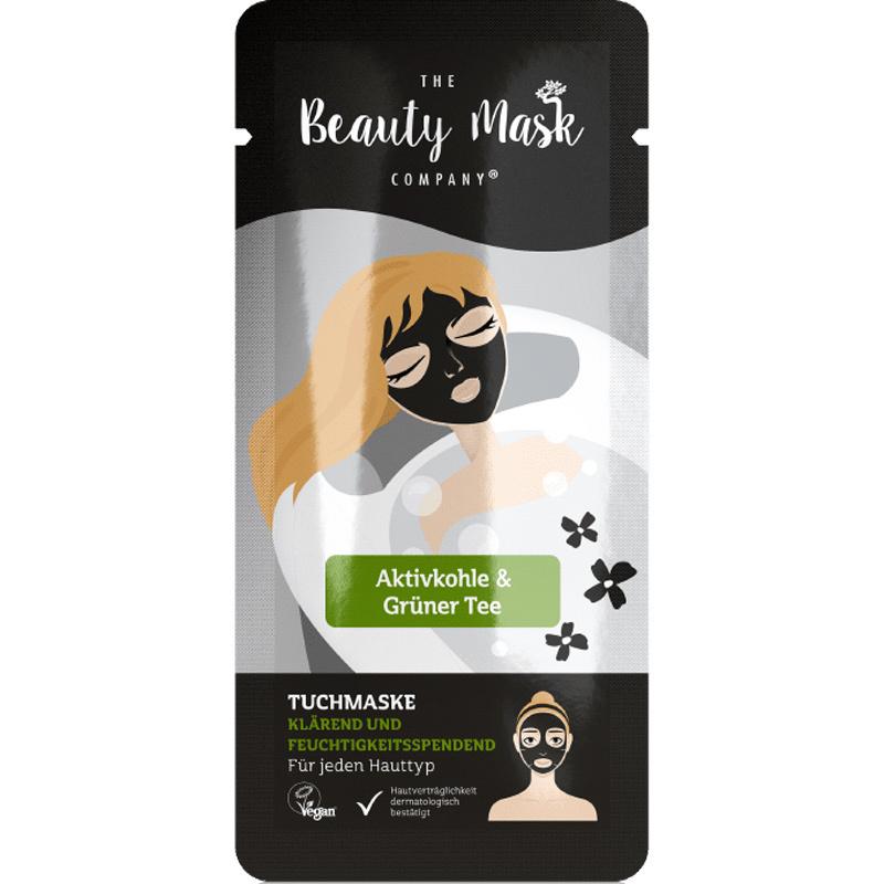 Sheet Mask #Charcoal & Green Tea-1