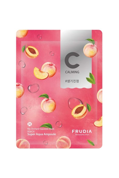 my orchard squeeze mask  PEACH
