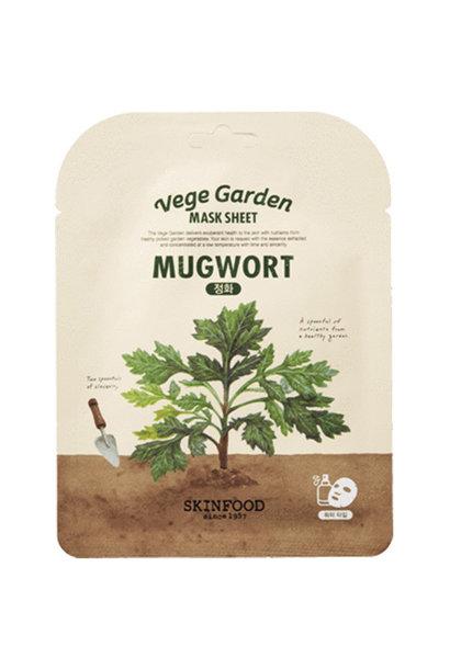 Vege Garden Mugwort Mask Sheet